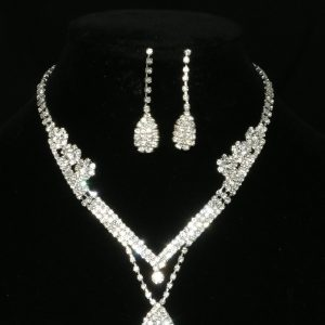 Classic Diamante Jewellery Set