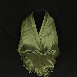 Lovely Olive Green Pashmina Shawl