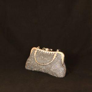 Classy Diamante Clutch Bag