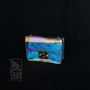 Alluring Holographic Handbag